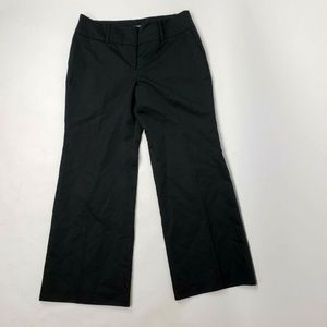 ANN TAYLOR Black Signature Fit Pants Size 14